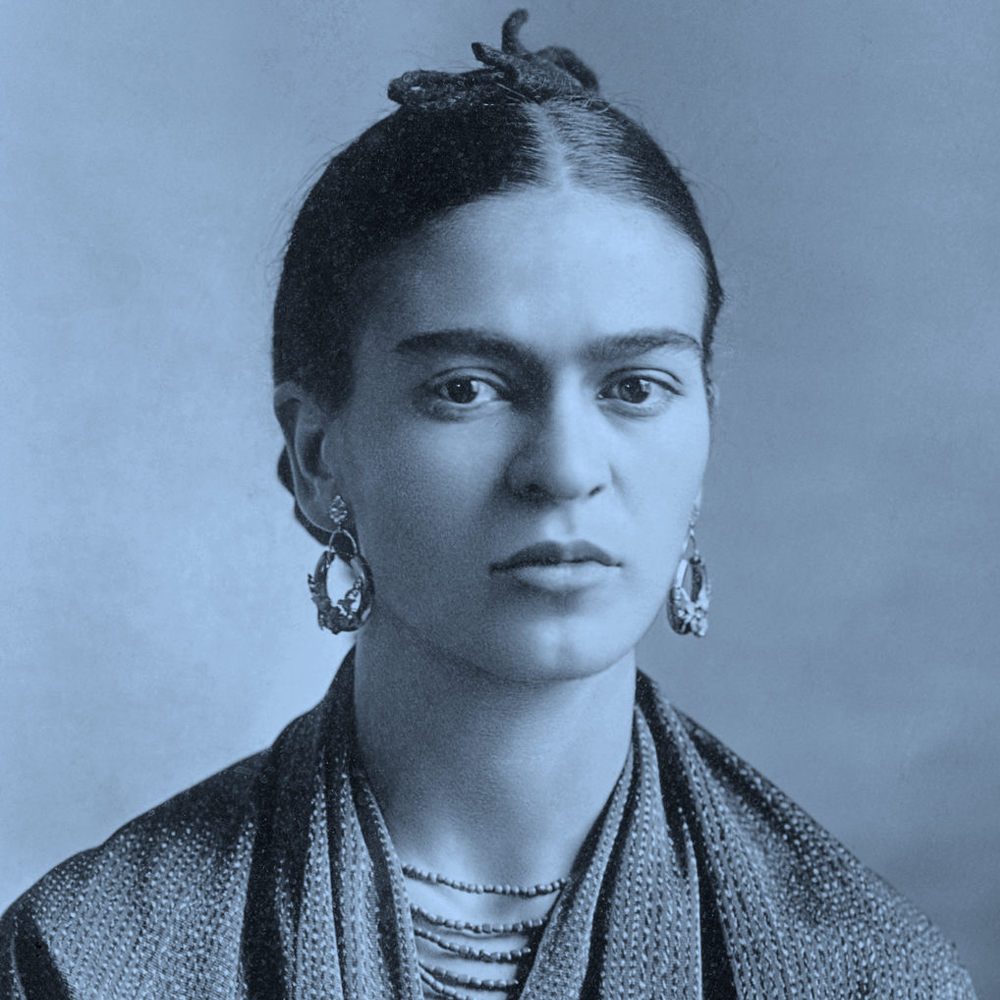 Self-Portrait in the Style of Frida Kahlo