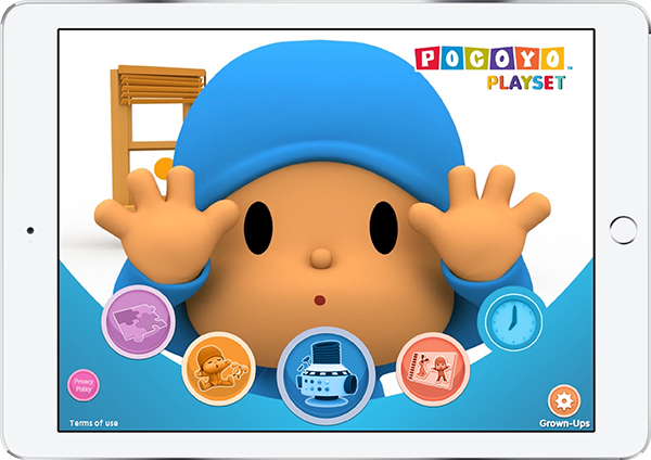 "HITN Educational App ""Pocoyo Playset: Lets Move"" Finalist For The 2017 Kids Imagination Awards"