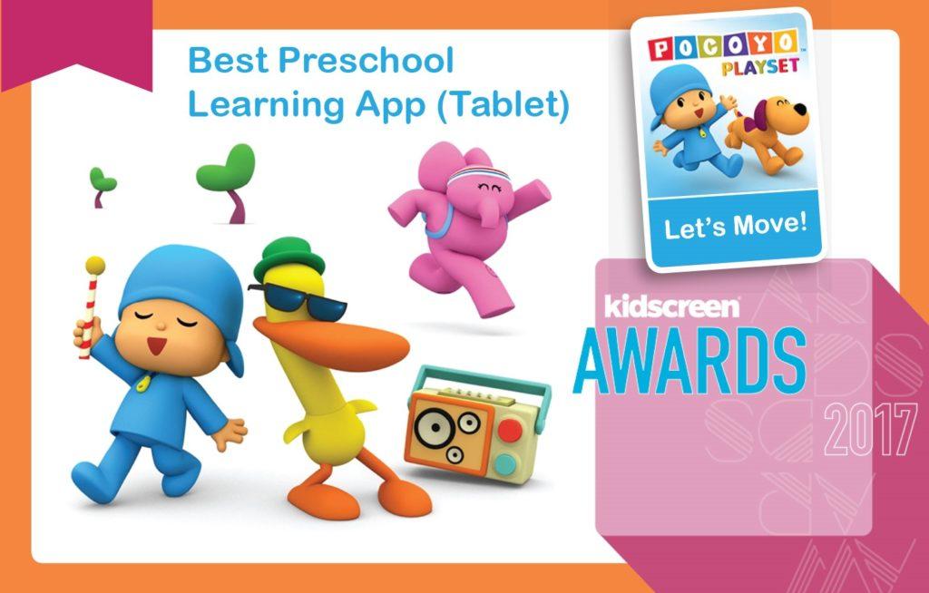 HITN Educational App Wins Kidscreen Award for Best Preschool Children's Learning App