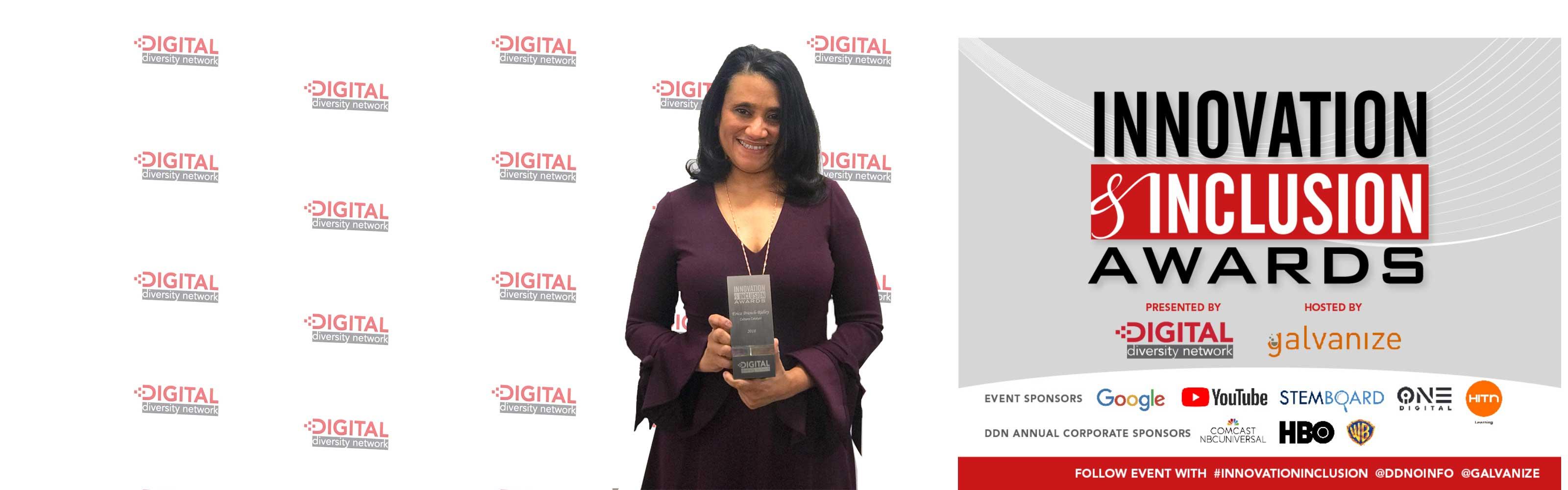 Ejecutiva de HITN Learning es Premiada Por el Digital Diversity Network Por Su Liderazgo