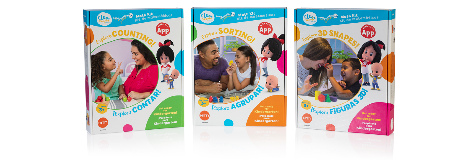 HITN Launches Educational Kits Inspired by the Fun Youtube Characters Cleo & Cuquin
