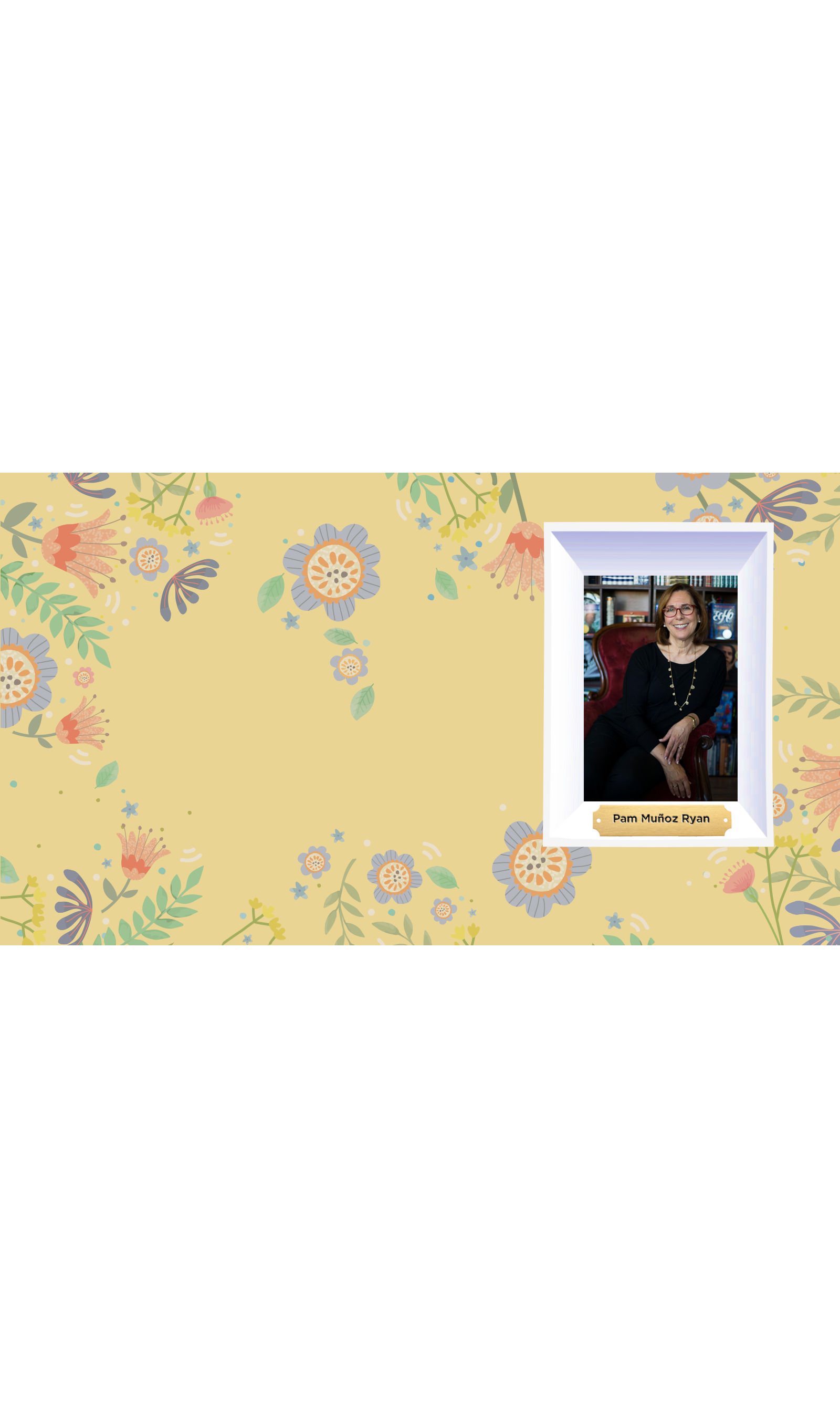 Women's History Month<br/> Pam Muñoz Ryan