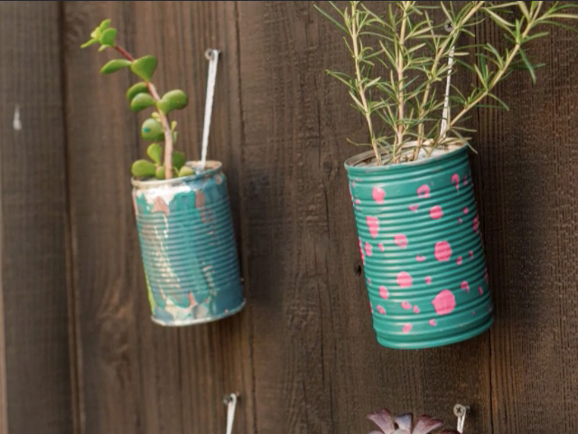 Reuse Your Tin Cans!