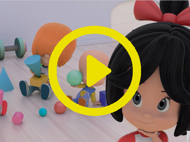 3D Shapes Storybook Video