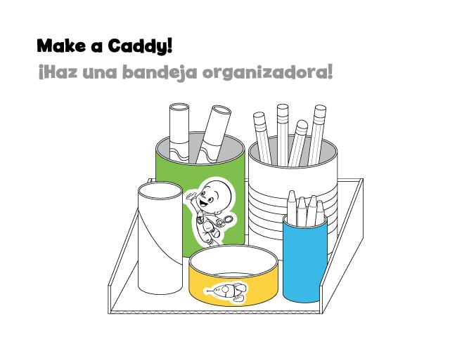 Make a caddy activity