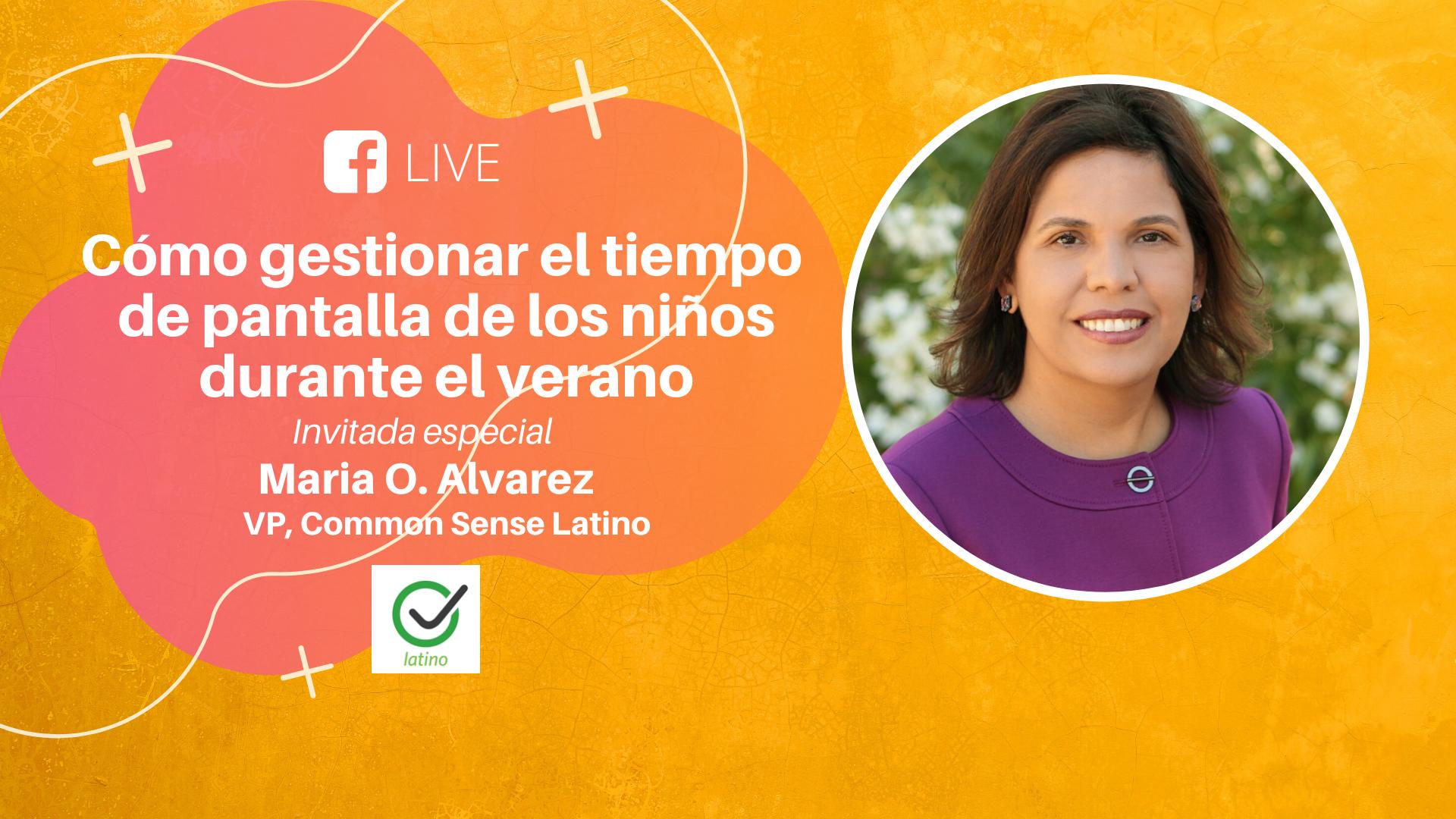 Evento en Vivo con Common Sense Latino